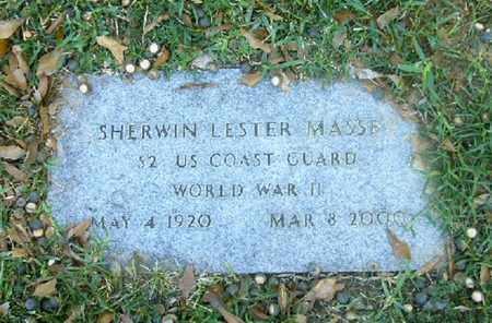 MASSEY (VETERAN WWII), SHERWIN LESTER - Bowie County, Texas | SHERWIN LESTER MASSEY (VETERAN WWII) - Texas Gravestone Photos