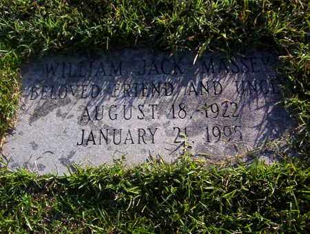 MASSEY, WILLIAM JACK - Bowie County, Texas | WILLIAM JACK MASSEY - Texas Gravestone Photos
