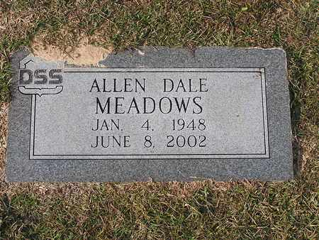 MEADOWS, ALLEN DALE - Bowie County, Texas   ALLEN DALE MEADOWS - Texas Gravestone Photos