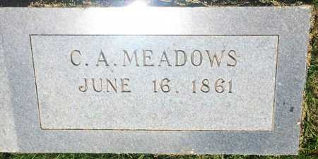 MEADOWS, C A - Bowie County, Texas | C A MEADOWS - Texas Gravestone Photos