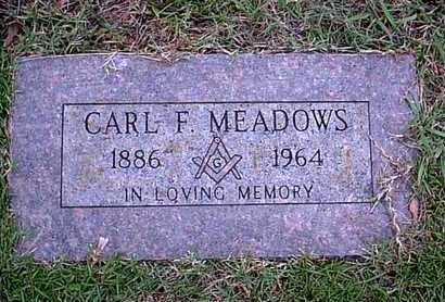 MEADOWS, CARL F - Bowie County, Texas | CARL F MEADOWS - Texas Gravestone Photos