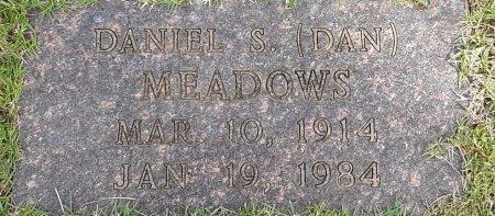 MEADOWS, DANIEL S  - Bowie County, Texas | DANIEL S  MEADOWS - Texas Gravestone Photos