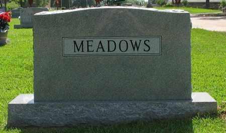 MEADOWS, FAMILY MARKER - Bowie County, Texas   FAMILY MARKER MEADOWS - Texas Gravestone Photos