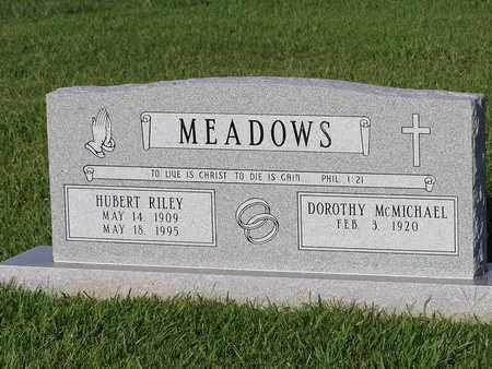 MEADOWS, HUBERT RILEY - Bowie County, Texas | HUBERT RILEY MEADOWS - Texas Gravestone Photos