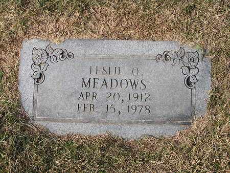 MEADOWS, LESLIE O - Bowie County, Texas | LESLIE O MEADOWS - Texas Gravestone Photos