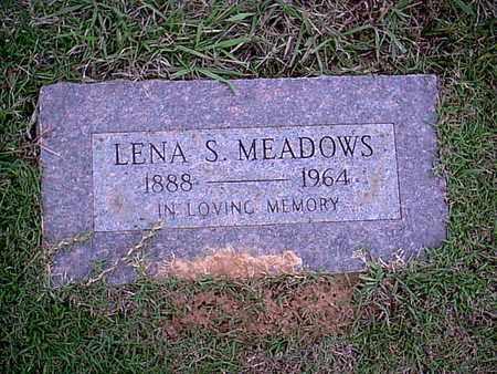 MEADOWS, LENA S - Bowie County, Texas | LENA S MEADOWS - Texas Gravestone Photos