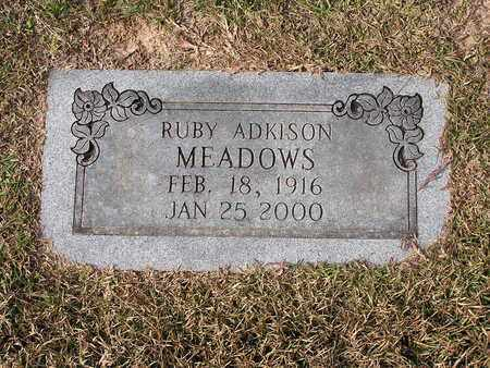 MEADOWS, RUBY - Bowie County, Texas | RUBY MEADOWS - Texas Gravestone Photos