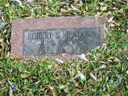 MEADOWS, ROBERT S - Bowie County, Texas | ROBERT S MEADOWS - Texas Gravestone Photos