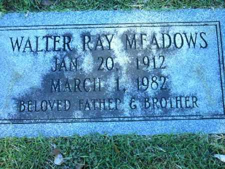 MEADOWS, WALTER RAY - Bowie County, Texas   WALTER RAY MEADOWS - Texas Gravestone Photos