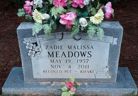 MEADOWS, ZADIE MALISSA - Bowie County, Texas | ZADIE MALISSA MEADOWS - Texas Gravestone Photos