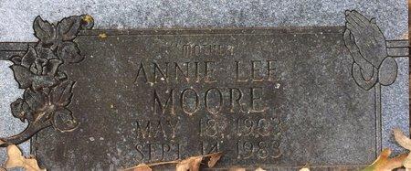 MOORE, ANNIE LEE - Bowie County, Texas   ANNIE LEE MOORE - Texas Gravestone Photos