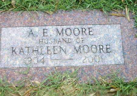 MOORE, A E - Bowie County, Texas | A E MOORE - Texas Gravestone Photos