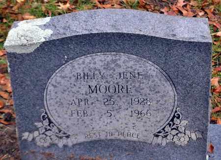 MOORE, BILLY JENE - Bowie County, Texas | BILLY JENE MOORE - Texas Gravestone Photos