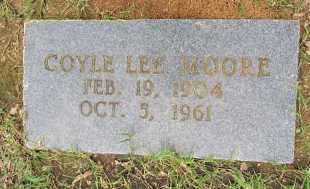 MOORE, COYLE LEE - Bowie County, Texas   COYLE LEE MOORE - Texas Gravestone Photos