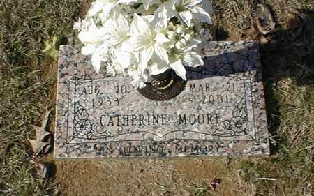 MOORE, CATHERINE - Bowie County, Texas | CATHERINE MOORE - Texas Gravestone Photos
