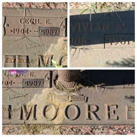 MOORE, VIVIAN M - Bowie County, Texas | VIVIAN M MOORE - Texas Gravestone Photos