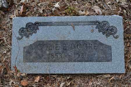 MOORE, COLIE E - Bowie County, Texas | COLIE E MOORE - Texas Gravestone Photos