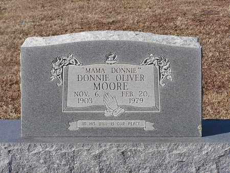 MOORE, DONNIE OLIVER - Bowie County, Texas | DONNIE OLIVER MOORE - Texas Gravestone Photos