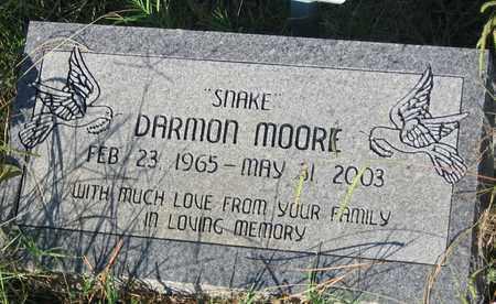 MOORE, DARMON  - Bowie County, Texas | DARMON  MOORE - Texas Gravestone Photos