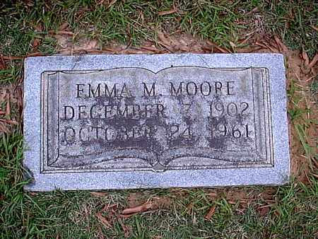 MOORE, EMMA M - Bowie County, Texas   EMMA M MOORE - Texas Gravestone Photos