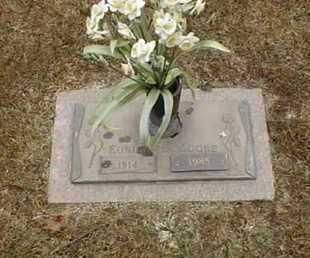 MOORE, EUNICE - Bowie County, Texas   EUNICE MOORE - Texas Gravestone Photos