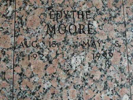 MOORE, EDYTHE - Bowie County, Texas | EDYTHE MOORE - Texas Gravestone Photos