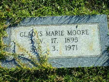 MOORE, GLADYS MARIE - Bowie County, Texas | GLADYS MARIE MOORE - Texas Gravestone Photos