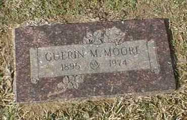 MOORE, GUERIN M - Bowie County, Texas | GUERIN M MOORE - Texas Gravestone Photos