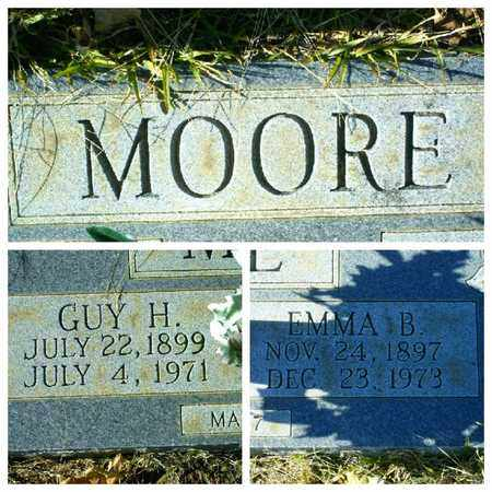 MOORE, GUY H - Bowie County, Texas | GUY H MOORE - Texas Gravestone Photos