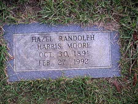 MOORE, HAZEL RANDOLPH - Bowie County, Texas | HAZEL RANDOLPH MOORE - Texas Gravestone Photos