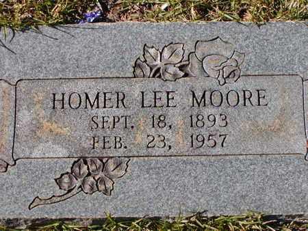 MOORE, HOMER LEE - Bowie County, Texas | HOMER LEE MOORE - Texas Gravestone Photos