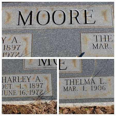 MOORE, HARLEY A - Bowie County, Texas | HARLEY A MOORE - Texas Gravestone Photos