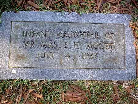 MOORE, INFANT - Bowie County, Texas | INFANT MOORE - Texas Gravestone Photos