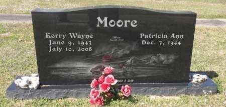 MOORE, KERRY WAYNE - Bowie County, Texas | KERRY WAYNE MOORE - Texas Gravestone Photos