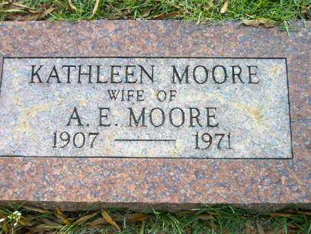 MOORE, KATHLEEN - Bowie County, Texas | KATHLEEN MOORE - Texas Gravestone Photos