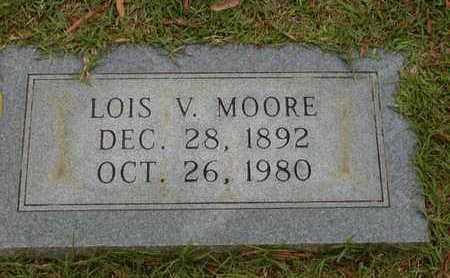MOORE, LOIS V - Bowie County, Texas | LOIS V MOORE - Texas Gravestone Photos