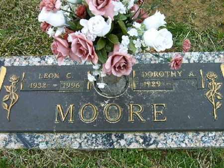 MOORE, LEON C - Bowie County, Texas | LEON C MOORE - Texas Gravestone Photos