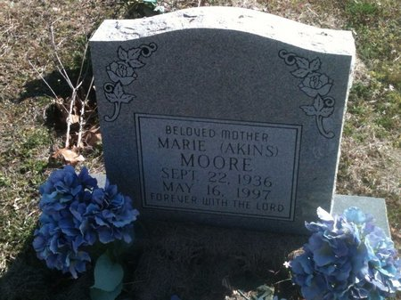 MOORE, MARIE - Bowie County, Texas | MARIE MOORE - Texas Gravestone Photos
