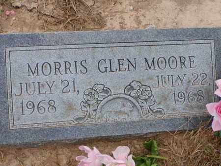 MOORE, MORRIS GLEN - Bowie County, Texas | MORRIS GLEN MOORE - Texas Gravestone Photos