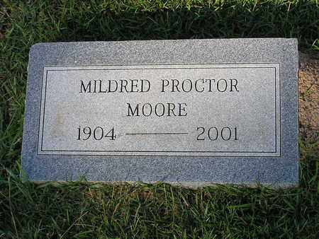 MOORE, MILDRED - Bowie County, Texas | MILDRED MOORE - Texas Gravestone Photos