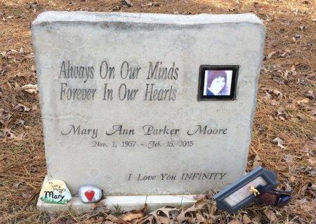MOORE, MARY ANN - Bowie County, Texas | MARY ANN MOORE - Texas Gravestone Photos
