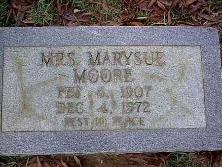 MOORE, MARYSUE, MRS - Bowie County, Texas | MARYSUE, MRS MOORE - Texas Gravestone Photos