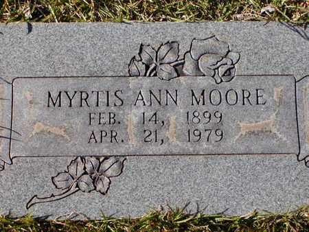 MOORE, MYRTIS ANN - Bowie County, Texas   MYRTIS ANN MOORE - Texas Gravestone Photos