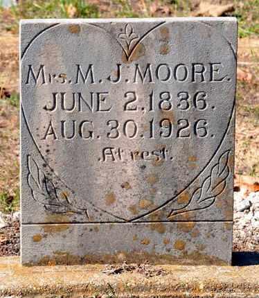 MOORE, M J, MRS - Bowie County, Texas | M J, MRS MOORE - Texas Gravestone Photos