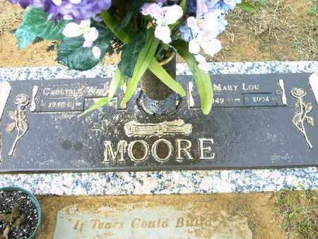 MOORE, MARY LOU - Bowie County, Texas   MARY LOU MOORE - Texas Gravestone Photos