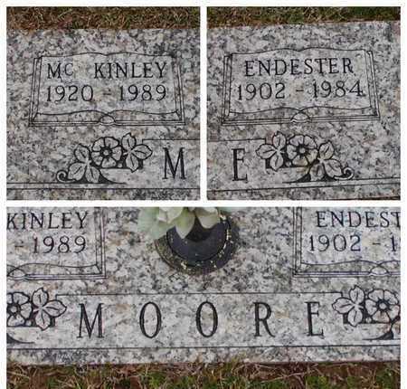 MOORE, ENDESTER - Bowie County, Texas   ENDESTER MOORE - Texas Gravestone Photos