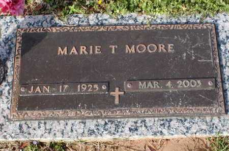 MOORE, MARIE T - Bowie County, Texas | MARIE T MOORE - Texas Gravestone Photos