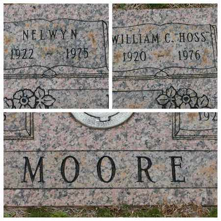 "MOORE, WILLIAM C ""HOSS"" - Bowie County, Texas | WILLIAM C ""HOSS"" MOORE - Texas Gravestone Photos"