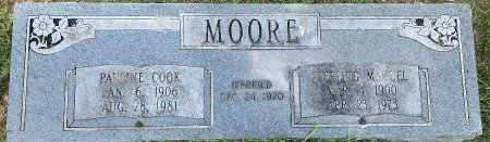 MOORE, STERLING MANUAL - Bowie County, Texas | STERLING MANUAL MOORE - Texas Gravestone Photos