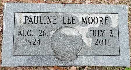 MOORE, PAULINE - Bowie County, Texas | PAULINE MOORE - Texas Gravestone Photos